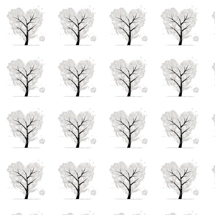 Vinylová Tapeta Láska strom, tvaru srdce pro svůj design - Mezinárodní svátky
