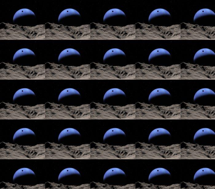 Vinylová Tapeta Stín čolka - Meziplanetární prostor
