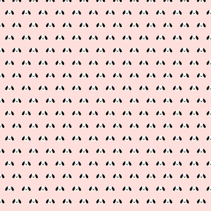 Vinylová Tapeta Bezešvé roztomilý pes vzor - Do dětského pokoje