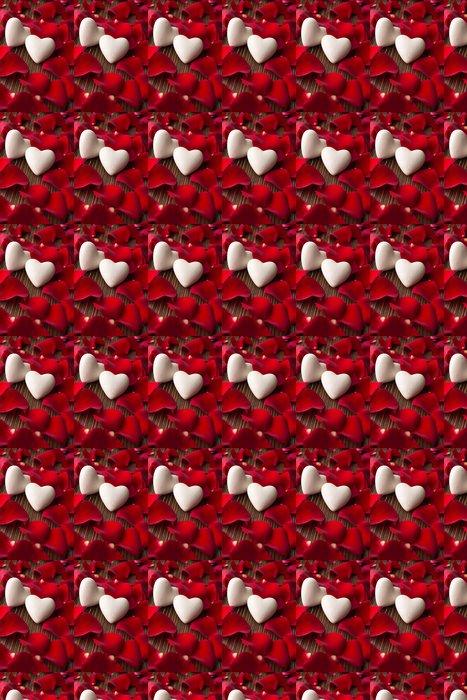 Vinylová Tapeta Okvětní lístky růží - Mezinárodní svátky