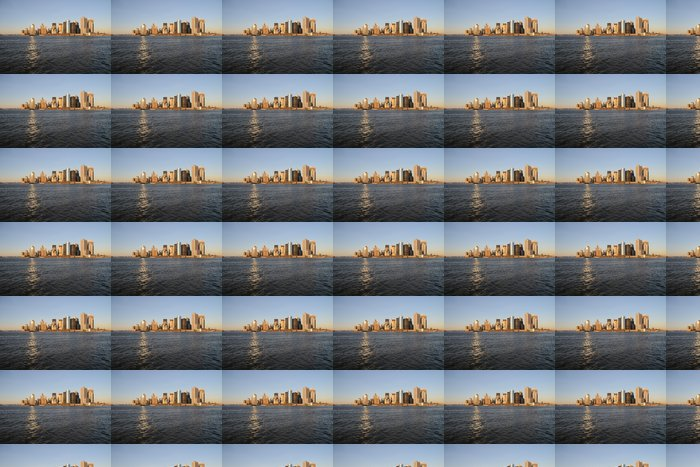 Vinylová Tapeta Manhattan Skyline Wolkenkratzer Hudson - Americká města