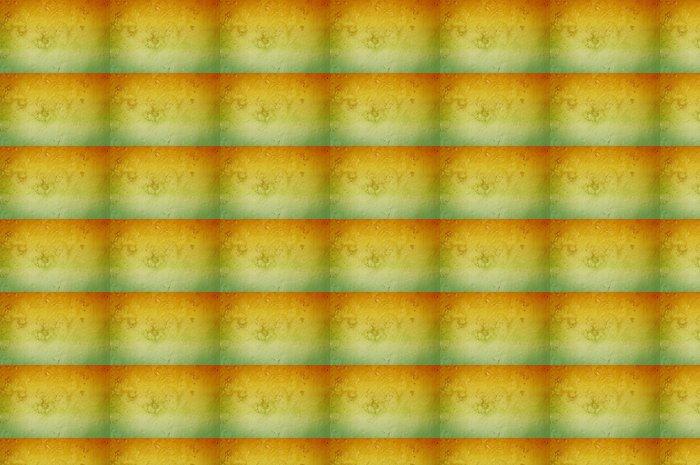Vinylová Tapeta Oranžová a zelená Grunge zdi textury - Pozadí