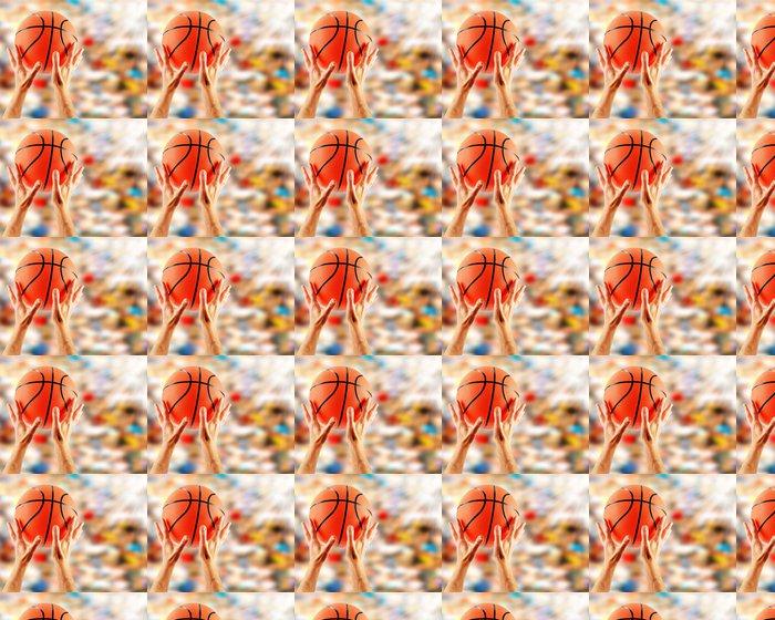 Vinylová Tapeta Ruce chytat basketbal - Sportovní potřeby
