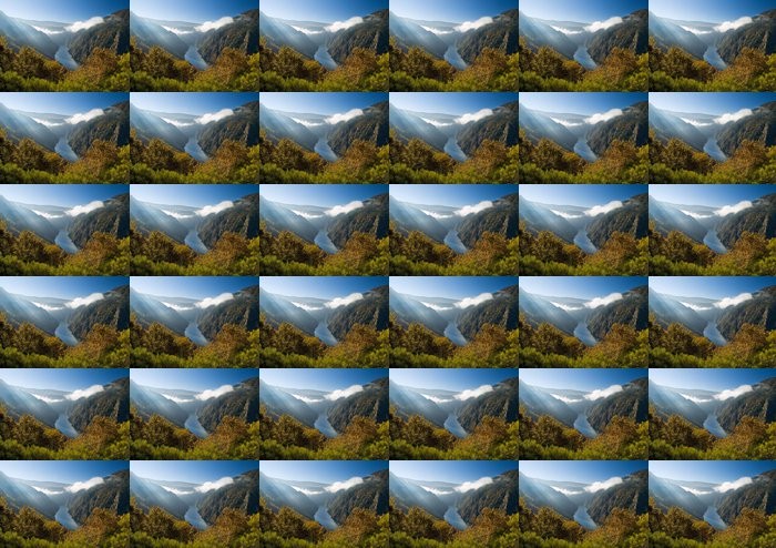Vinylová Tapeta Sil kaňon řeky, v Orense, Španělsko - Hory