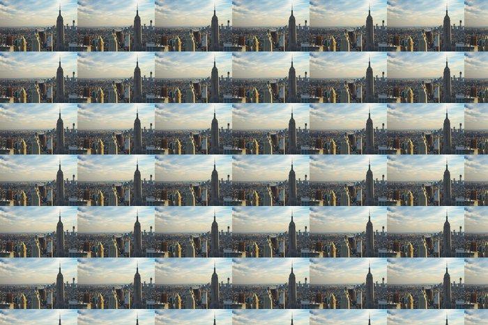 Vinylová Tapeta Letecký pohled na New Yorku - Americká města