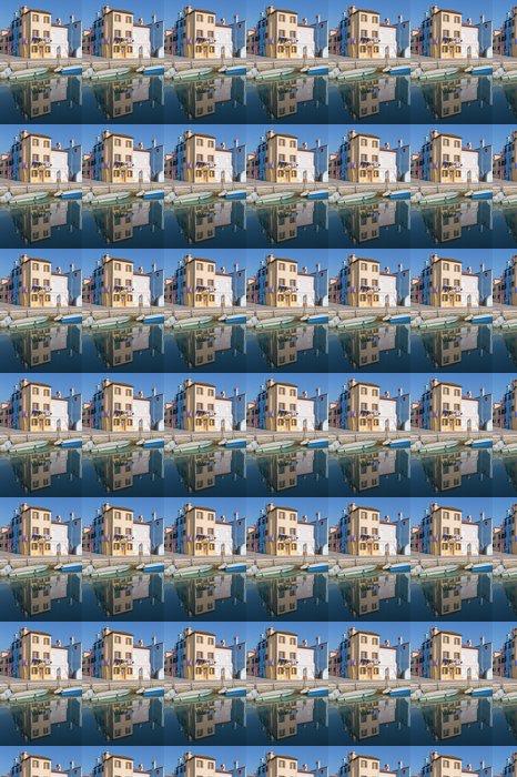 Vinylová Tapeta Benátky - domy přes kanál z ostrova Burano - Evropská města