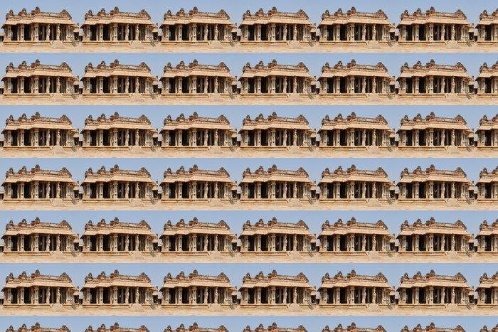 Vinylová Tapeta Indická architektura v Hampi - Asie
