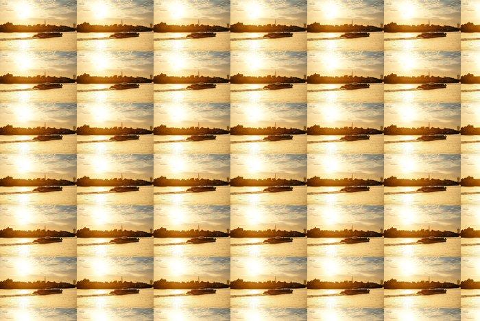 Vinylová Tapeta Thames River západu slunce - Památky