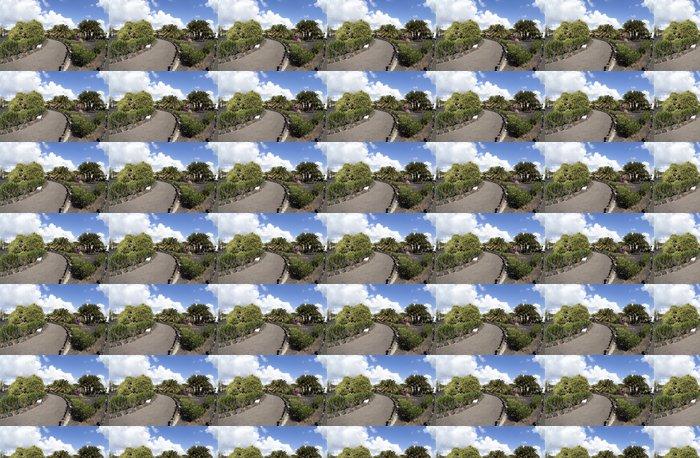 Vinyltapete Tropischer Garten auf Lanzarote - Europa