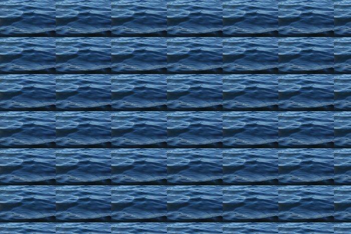 Vinylová Tapeta Türkisblaue Wasserwellen - Voda