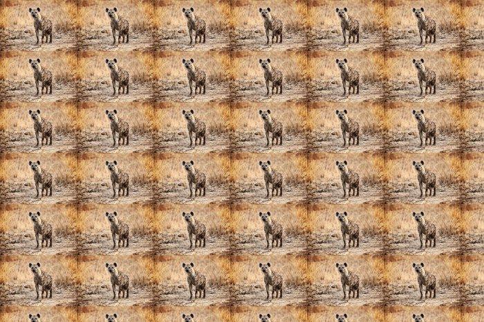 Vinylová Tapeta Hyena skvrnitá - Afrika