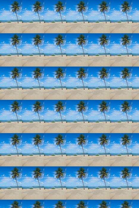 Vinylová Tapeta Beach kaple v Guadeloupe - Voda