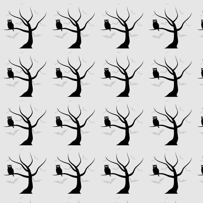 Vinylová Tapeta Owl2 - Ptáci