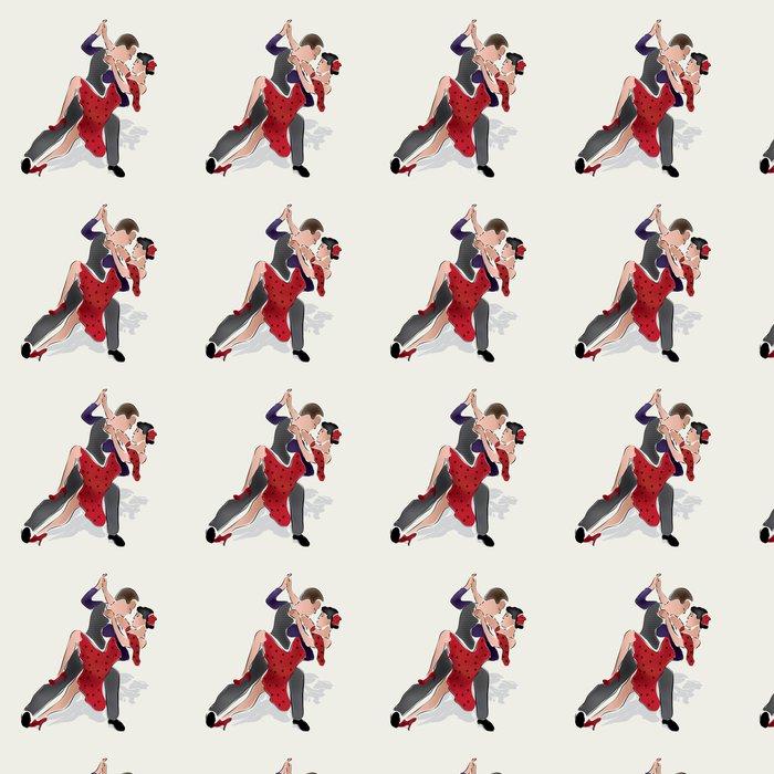 Vinylová Tapeta Latino Dancers. Merenge nebo Salsa Taneční pár - Témata