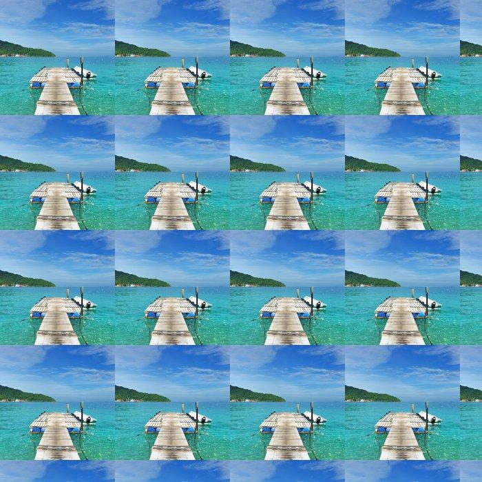 Vinylová Tapeta Krásné pláže molo - Prázdniny
