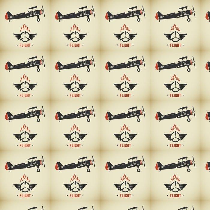 Vinylová Tapeta Vintage plane - Témata