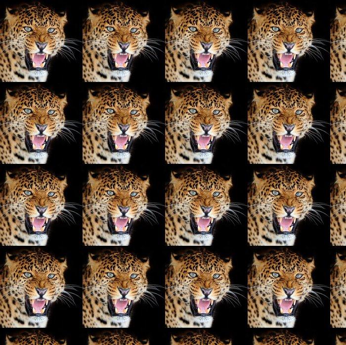 Leopardi Vinyylitapetti - Nisäkkäät