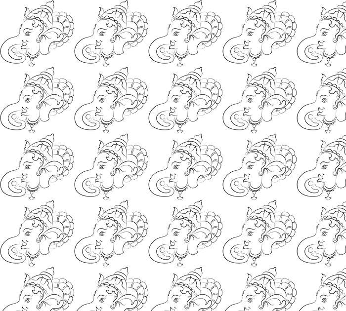 Vinylová Tapeta Ganesha - Náboženství