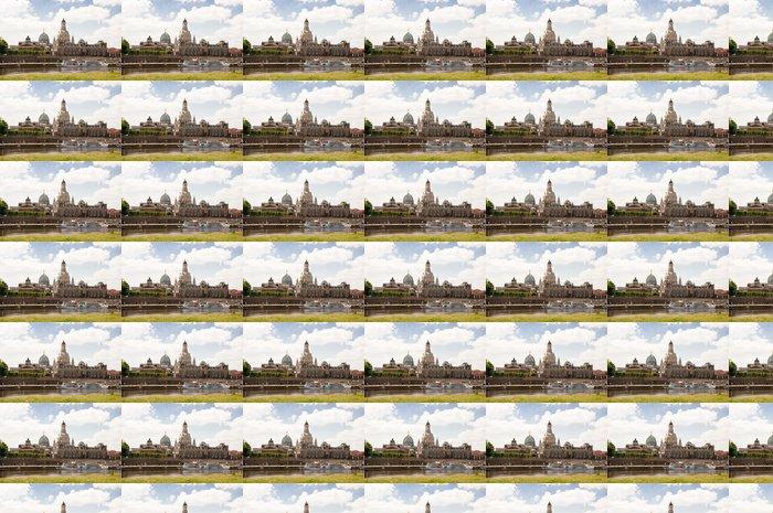 Papier Peint à Motifs Vinyle Porcelaine de saxe - Vacances