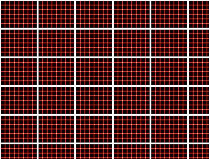 Vinylová Tapeta Barva optický klam - Aplikované a přírodní vědy