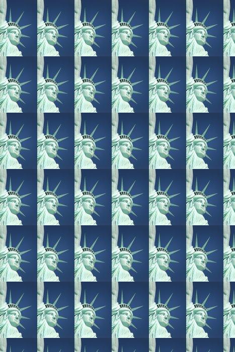 Vinylová Tapeta Socha Freed - Americká města