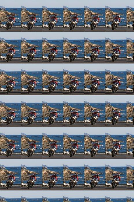 Vinylová Tapeta Motorkář na Sardinii - Evropa