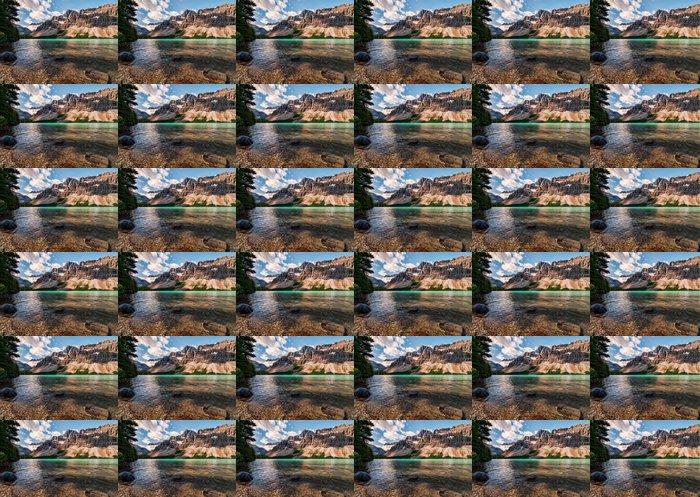 Vinylová Tapeta Icefields Parkway Bow Lake s výhledem na hory - Amerika