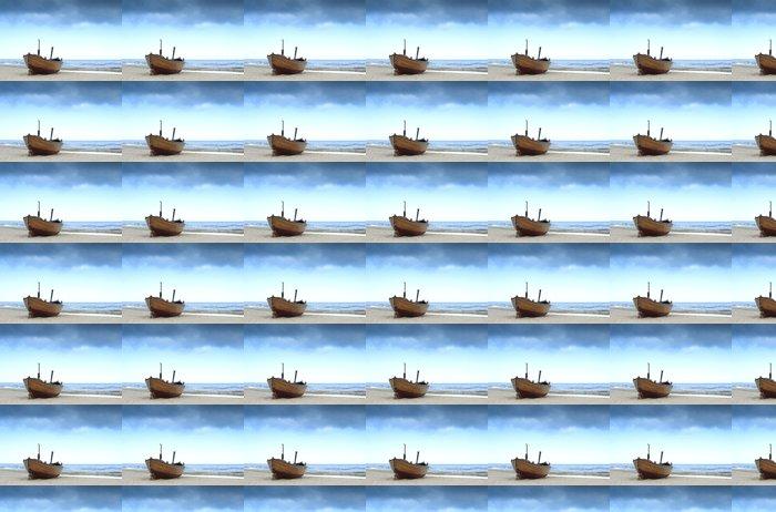 Vinylová Tapeta Rybářská loď na pobřeží Baltského moře - Témata