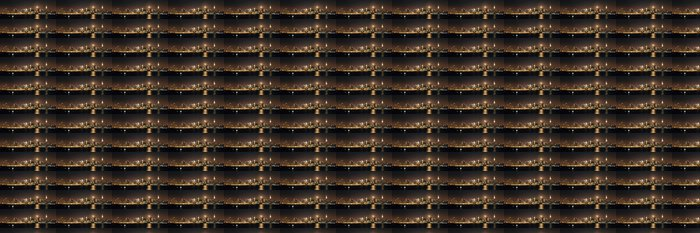Vinylová Tapeta Moon Rise Manhattan - Veřejné budovy
