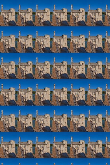 Vinylová Tapeta Kaple Saint-Nicolas v Saint-Benezet mostu. Avignon, Francie - Evropa