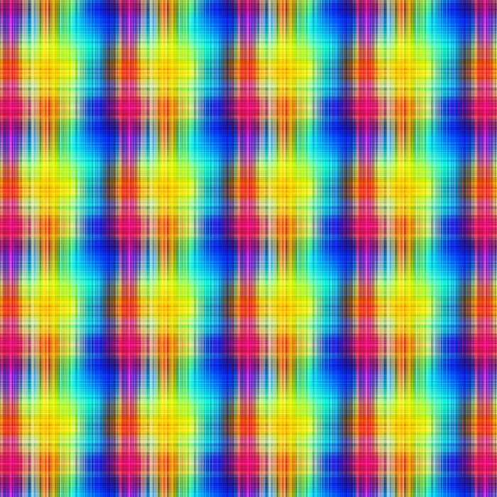 Rainbow Colors Grid Pattern Lines Abstract Background