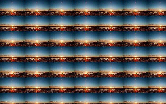 Vinylová Tapeta Mírové Lake Sunrise - Oceánie