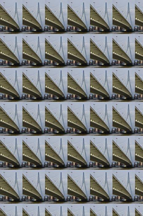 Vinylová Tapeta Bokem Erasmus Bridge Rotterdam - Evropa