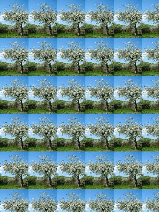 Vinylová Tapeta Kvetoucí ovocný strom - Roční období