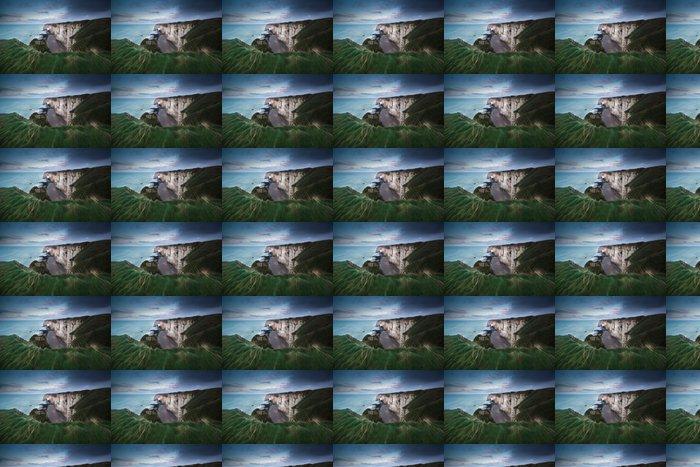 Vinylová Tapeta Vysoké útesy na pobřeží Atlantského oceánu - Voda
