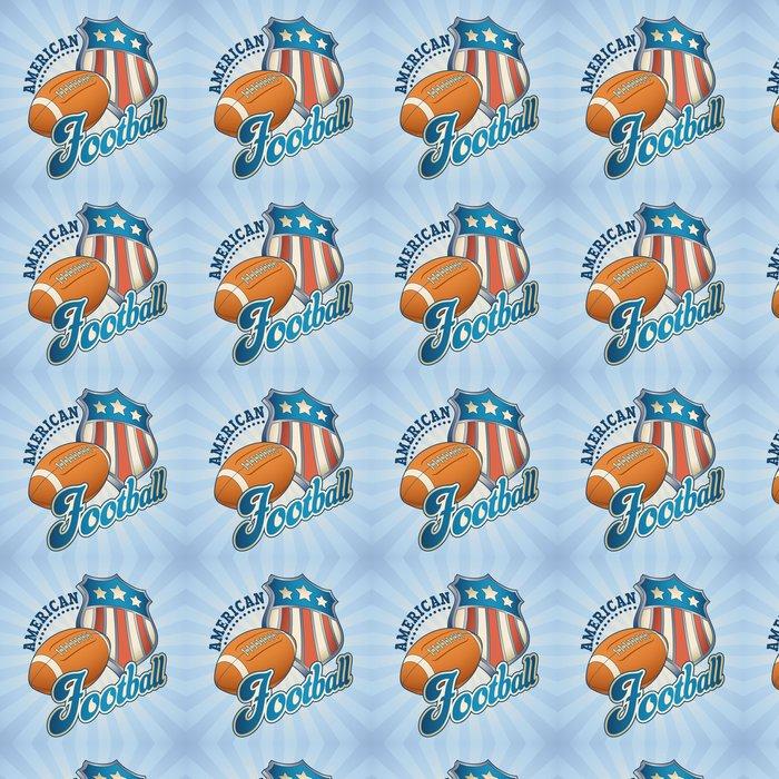 Vinylová Tapeta Americký fotbal odznak - Zápasy a soutěže