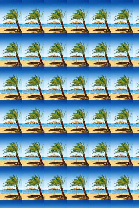 Vinylová Tapeta Beach jordan - Prázdniny