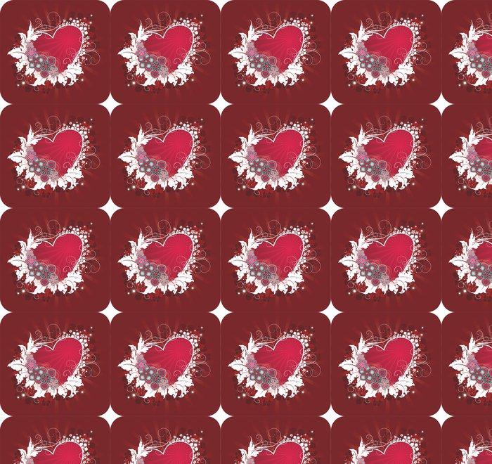 Vinylová Tapeta Valentýnská pohlednice - Mezinárodní svátky