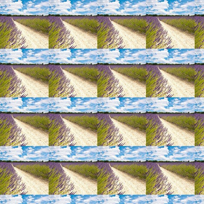 Vinylová Tapeta Provence - levandulová pole - Témata