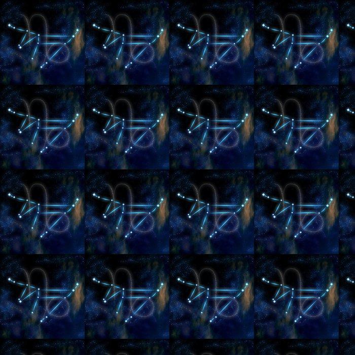 Vinylová Tapeta Kozoroh souhvězdí a symbol - Témata