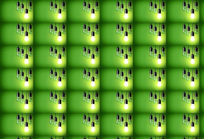 Vinylová Tapeta Myšlenka koncepce na zeleném pozadí - Prvky podnikání