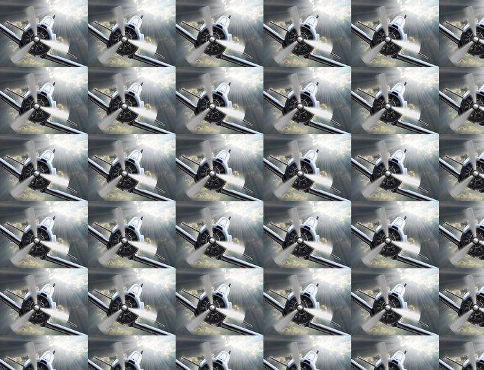 Vinylová Tapeta Fighter. Retro technologie téma. - Témata