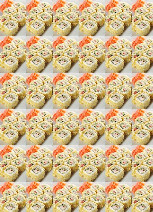 Vinylová Tapeta Japonská kuchyně. Maki sushi. - Sushi