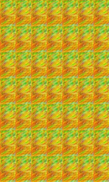 Vinylová Tapeta Pozadí v zelené, červené a žluté v pastelových akvarelů - Abstraktní