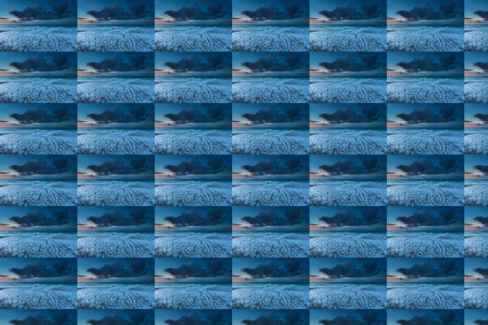 Vinylová Tapeta Atlantském oceánu vlny při západu slunce - Nebe