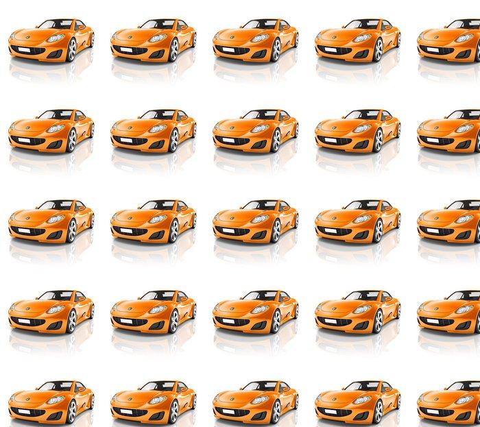 Vinylová Tapeta Luxusní sportovní auto - Na cestě