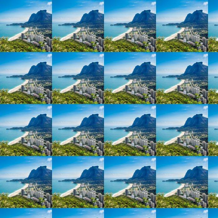Vinylová Tapeta Sao Conrado s Pedra da Gavea Hill, Rio de Janeiro - Americká města