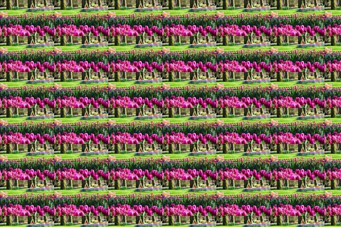 Vinylová Tapeta Krásné kvetoucí jarní zahrady - Květiny