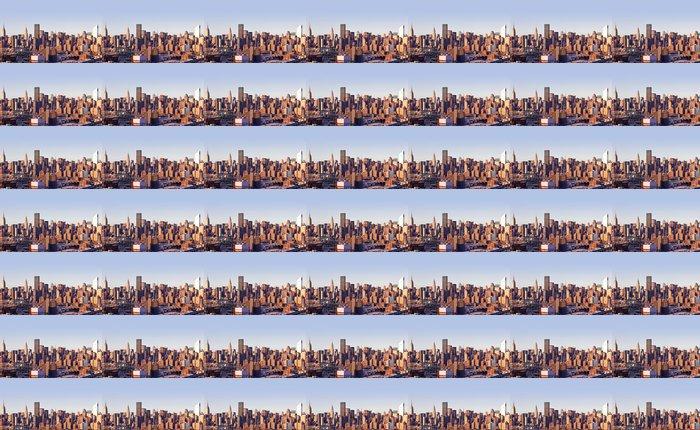 Vinylová Tapeta New-York panorama města převzat z Queensu na západ slunce - Město