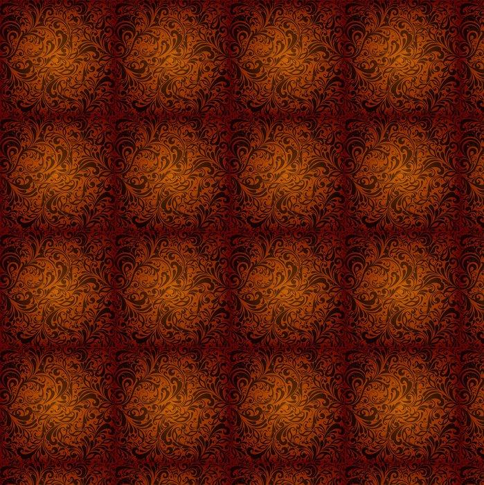 Vinylová Tapeta Bezešvé květinové pozadí - Struktury